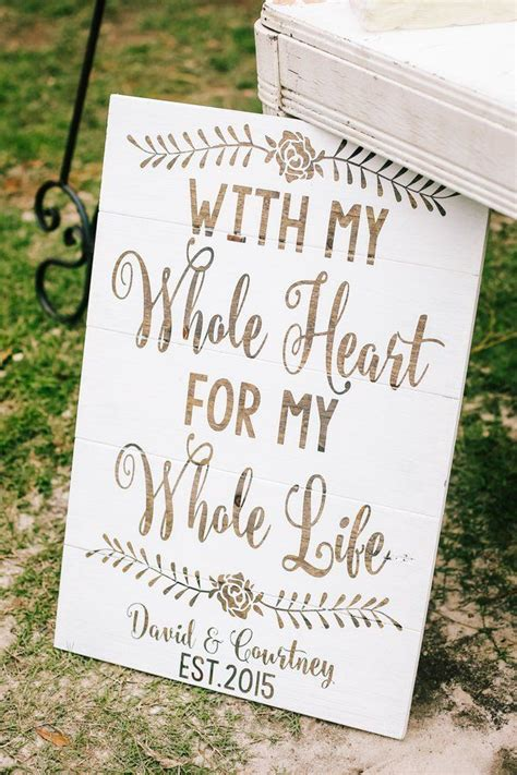 1000 Images About Rustic Wedding Signs On Pinterest