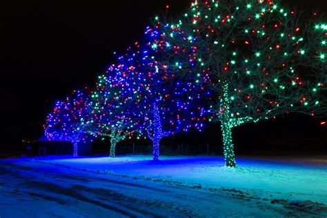 magical winter solar lights 163 10 poundstretcher