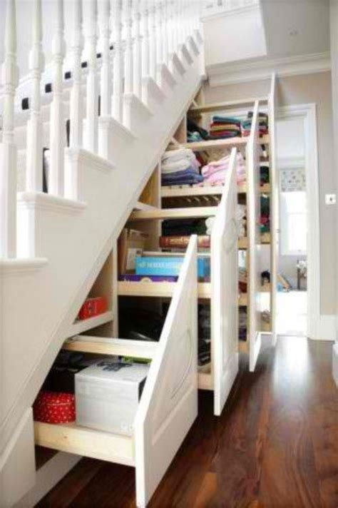 the stairs closet organization the storage under the stairs my closet remodel pinterest