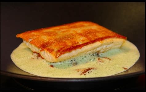 cuisiner l omble chevalier filet d 39 omble chevalier aux escargots du pré aux colimaçons