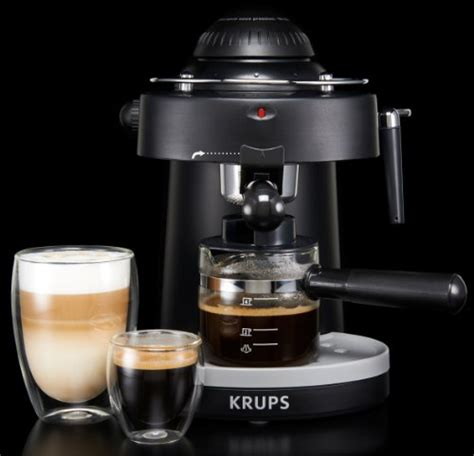 krups xp steam espresso machine  frothing nozzle