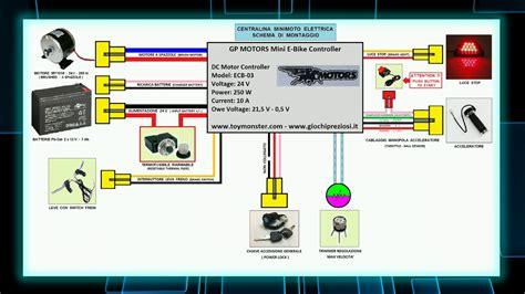 come collegare la centralina di una moto elettrica schema centralina youtube
