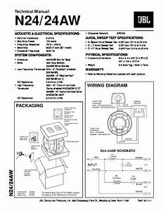 Jbl Nsp 1 Sat  Serv Man2  Service Manual  U2014 View Online Or