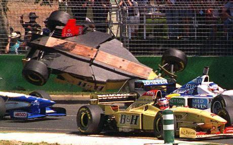 Crash Boat Ricardo S by F1 Undertray Martin Brundle Albert Park 1996