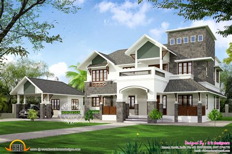 home design house house at koorg kerala home design and floor plans