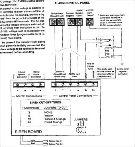Dsc Alarm Box Wiring Diagram by How To Wire Simon Xt To Relay To Drive External Sirens