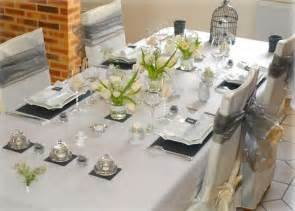 photo deco table mariage d 233 coration in table