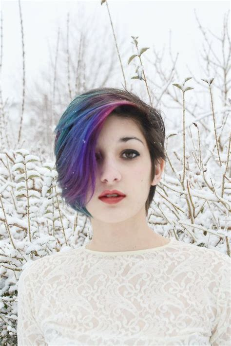 17 Best Ideas About Dyed Hair Underneath On Pinterest