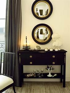 Console Baroque Noire : une console au style baroque marie claire ~ Teatrodelosmanantiales.com Idées de Décoration