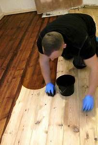 how to stain a wooden floor like a pro For the Home