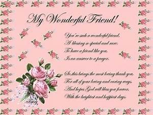 My Wonderful Fr... Friendship Wonderful Quotes