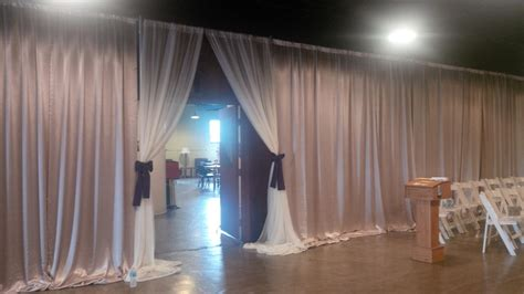 Drapes Rental - renting and using portable drapes pipe and drape 187 rsvp waco