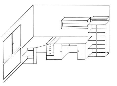 bureau dessin comment dessiner un lit en 3d