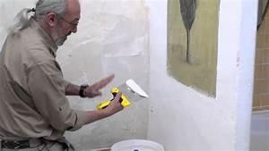 preparation des mursrebouchages lissage bricolage avec With enduire un muret exterieur