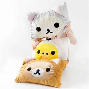 nonbiri neko rilakkuma fluffy pillows tokyo otaku mode shop With big fluffy pillows sale