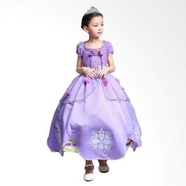 jual frozen princess sofia baju kostum anak online harga kualitas terjamin blibli com