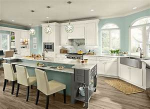 kraftmaid cabinets reviews 2017 buyer39s guide With kitchen cabinets lowes with surf canvas wall art