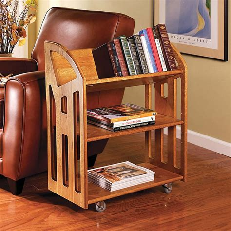 Small Bookcase On Wheels by I Read A Lot So This Is A Gift For Me Book Buggy