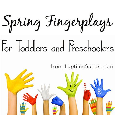 5 fingerplays for toddlers and preschoolers 891 | a0a7c0b18ae02f81a01e77cb9e499993 preschool spring songs and fingerplays fingerplays for toddlers
