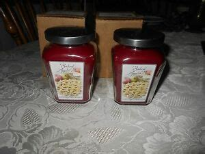 Home Interiors Candles Baked Apple Pie by Celebrating Home Interiors Set 2 Baked Apple Pie Jar