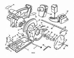 Craftsman 973113080 Circular Saw Parts