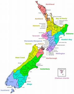 Districts Of New Zealand