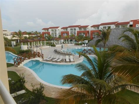 view from our garden room picture of now larimar punta