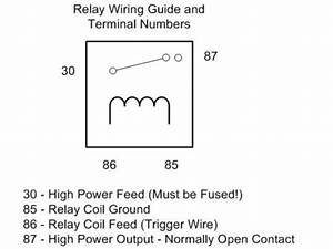 40 Amp 12v 5 Pin Solenoid Relay Suit Pr 100