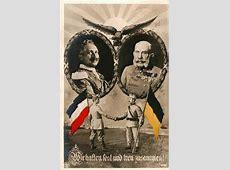 La alianza germanoaustríaca Guillermo II y Francisco José I
