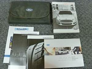 2015 Ford Fusion Sedan Owner Owner U0026 39 S Manual User Guide