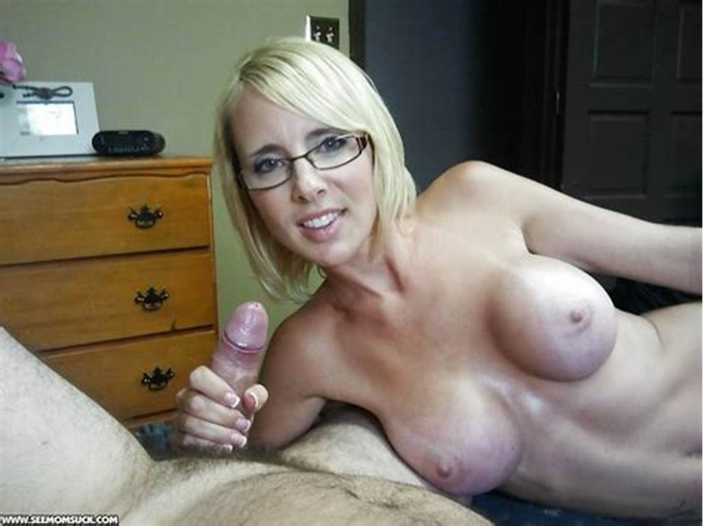 #Naughty #Big #Busted #Milf #In #Glasses #Gives #A #Sensual #Blowjob