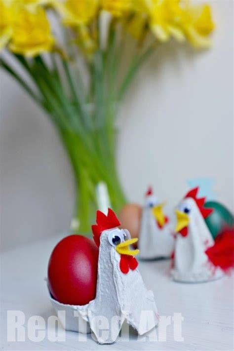 chicken egg cups fun family crafts