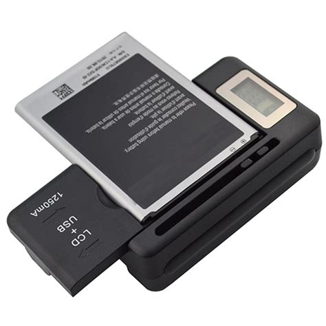universal phone charger mobile universal battery charger lcd indicator screen for