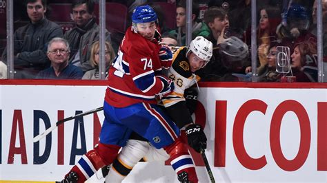 The Canadiens-bruins Rivalry Is Back And