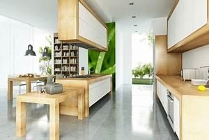 comment poser un plan de travail de cuisine sans meuble With installer un plan de travail sans meuble