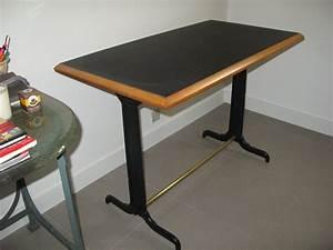 Table Bistrot Ancienne : table bistrot et ses 4 chaises la boutique au bout de la rue ou presque ~ Melissatoandfro.com Idées de Décoration