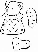 Puppet Coloring Bear Preschool Kindergarten Worksheets Crafts Comment Preschoolactivities Toddler sketch template