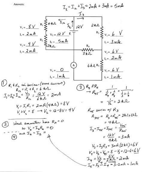 12 Best Images Of Series Parallel Circuit Worksheet  Series And Parallel Circuits Worksheets
