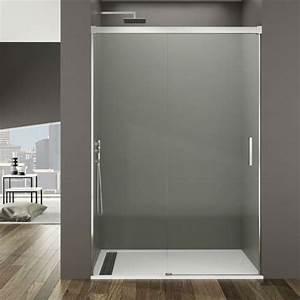paroi de douche coulissante avec verre fixe porte pas With porte de douche coulissante avec rénover petite salle de bain pas cher