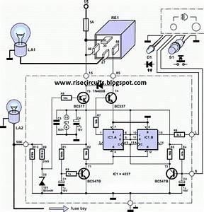 Rear Fog Lamp For Vintage Cars Circuit Diagram
