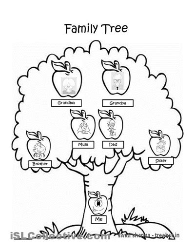 37 awesome family tree worksheet images family tree worksheet tree coloring page