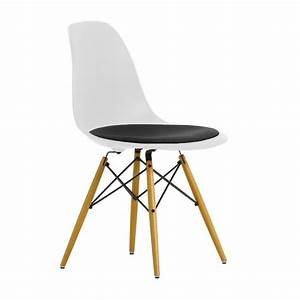 Eames Plastic Side Chair : eames plastic side chair dsw upholst h43cm vitra ~ Bigdaddyawards.com Haus und Dekorationen