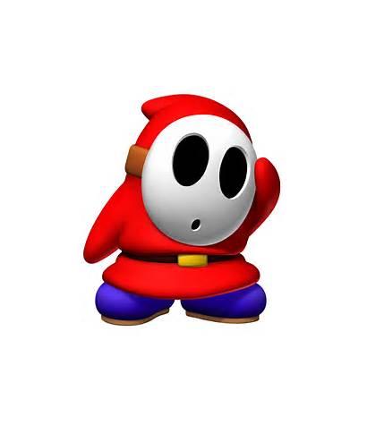Shy Guy Nintendo Face Mario Tennis Power