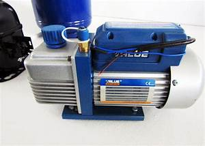 High Power Compressor Automotive Air Conditioning Equipment Refrigerant Charging Station