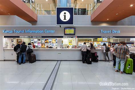 bwi airport information desk traveling between osaka and kansai international airport