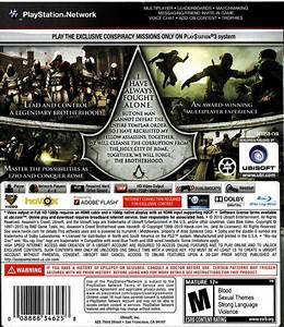 Assassin39s Creed Brotherhood Box Shot For PlayStation 3