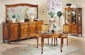 Meuble Style Louis Xv : salle a manger louis xv merisier meubles hummel ~ Dallasstarsshop.com Idées de Décoration