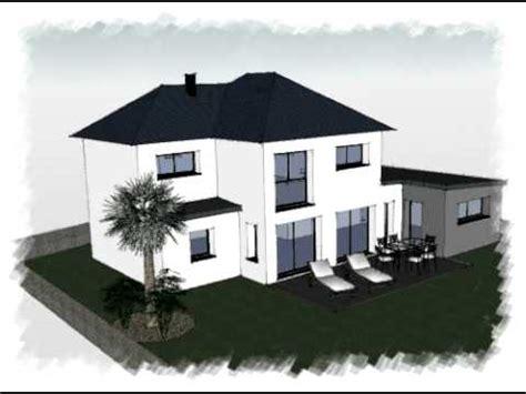arteco 252 projet maison contemporaine avec modules toit