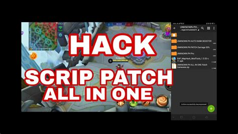 Mobile Legends All In One Rank Booster Map Hack