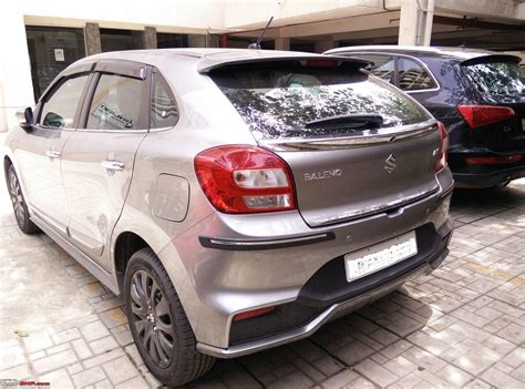 maruti baleno rs official review page  team bhp
